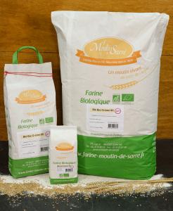 farine de blé bio creme 80 du moulin de sarre