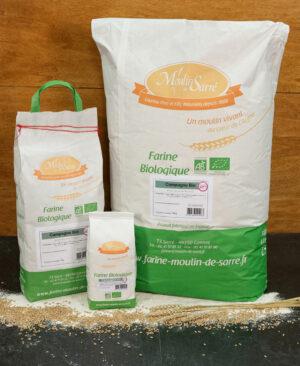 Farine de pain de Campagne BIO du Moulin de Sarré